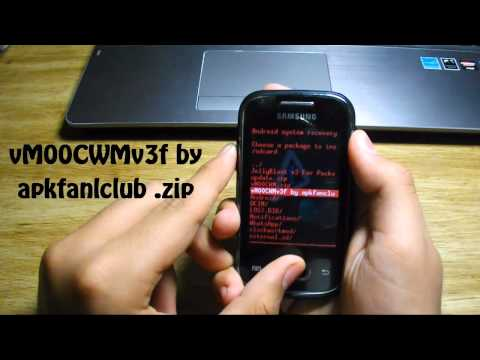 How to flash JellyBlast v3 Jelly Bean 4.1.1 custom ROM on Samsung galaxy Pocket GT-S5300