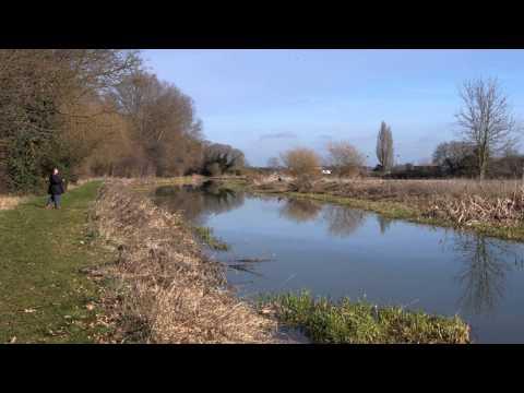 Ivel River St Neots Cambridgeshire