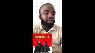 Tspize - Disappoint you ft Sarkodie audio Reaction.