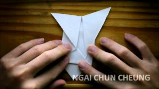 Origami Butterfly Bookmark (tutorial)