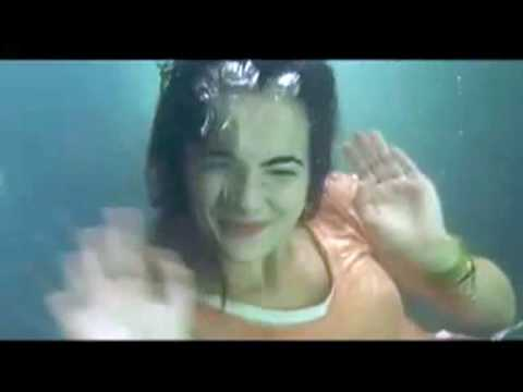 Camilla Belle underwater