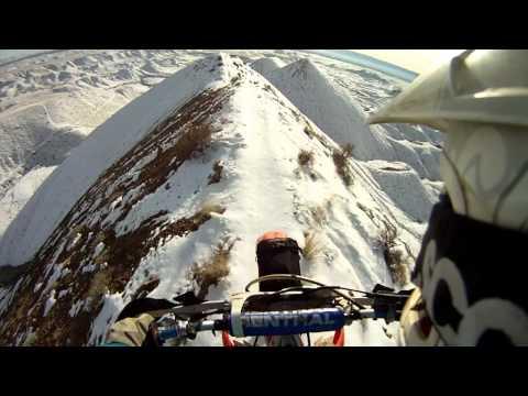 Ekstrēmais brauciens pa kalna kori