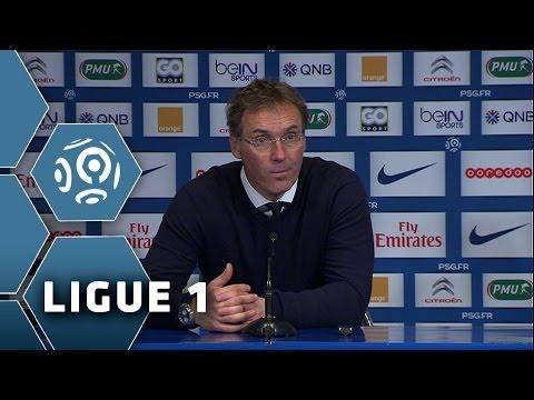 PSG - OM (2-0) La conf' de Laurent Blanc
