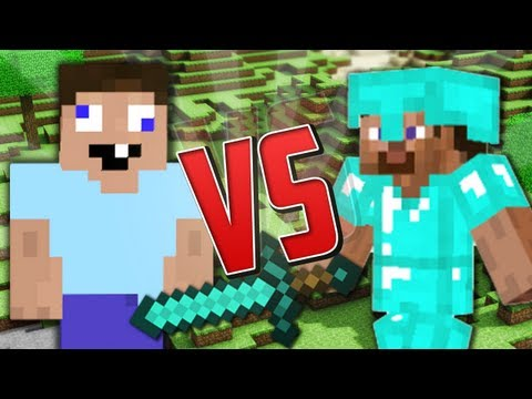 Noob vs. Pro (Minecraft Machinima)