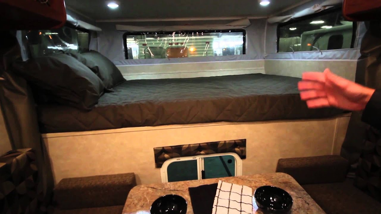 770p Travel Lite Pop Up Truck Camper With Electric Lift
