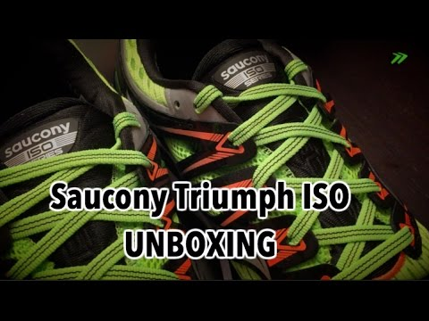 Saucony Triumph ISO, UNBOXING