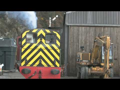 "Double Heading Class 03 shunters on Lakeside & Haverthwaite Railway 2008. HD 720 video - to watch in High Definition, click the ""HD"" button on the player."