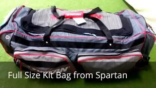 Spartan club cricket kit bag