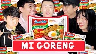 Download Lagu [SUB] REAKSI ORANG KOREA MAKAN MI GORENG !! Gratis STAFABAND