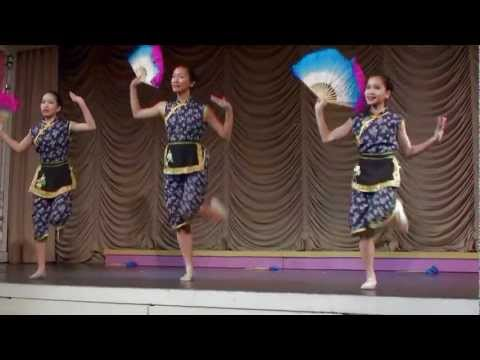 Double Fan Dance - NYCCC @ the Convent of the Sacred Heart