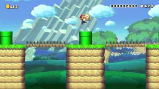 Super Mario Maker - Random Level - museum of bad design by Russell - No Commentary