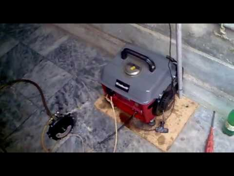 How to run 2 stroke generator on Natural gas or propane gas ???
