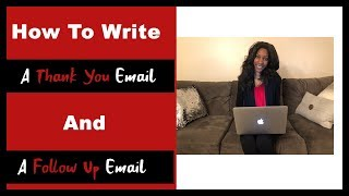 How to Write a Thank You Email & Follow Up Email | My Passioniplets By Whitney Singleton