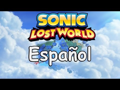 Sonic Lost World: Escenas: Espa�ol