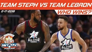 2018 NBA All-Star Game | Who will win ? | Hoops & Brews