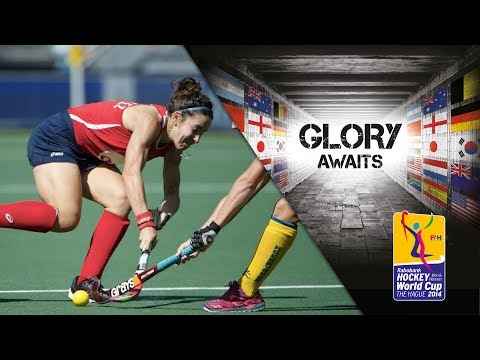 USA Vs Australia - Women's Rabobank Hockey World Cup 2014 Hague Semi Final [12/6/2014]