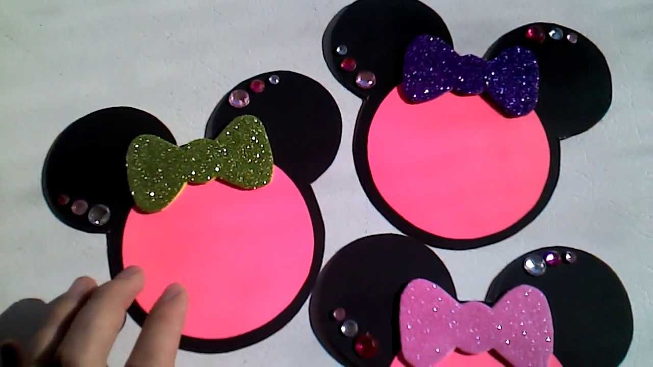 Minnie Mouse Invitations For Bridal Shower Youtube