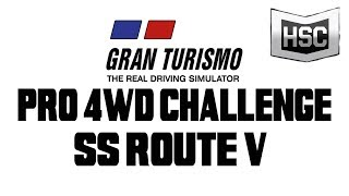 OVERPOWERED!  Gran Turismo 3 A-Spec Professional League 4WD Challenge Special Stage Route V