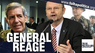 General Girão manda deputado petista se retratar após ele desrespeitar General Heleno e Bolsonaro