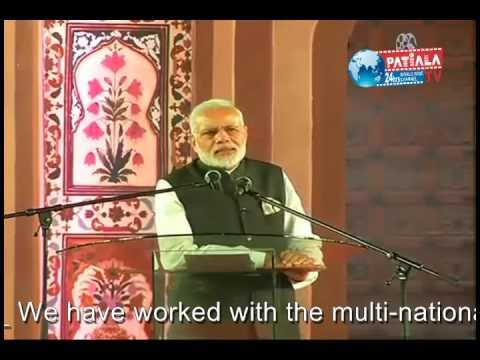 Narendra Modi at the Indian Community Reception in Nairobi, Kenya
