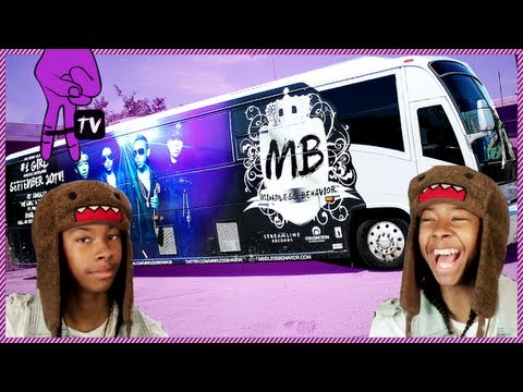 Mindless Takeover - Mindless Behavior's Tour Bus - Mindless Takeover Ep. 50