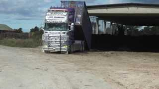 Scania R560 V8 with great sound as usual in 2013