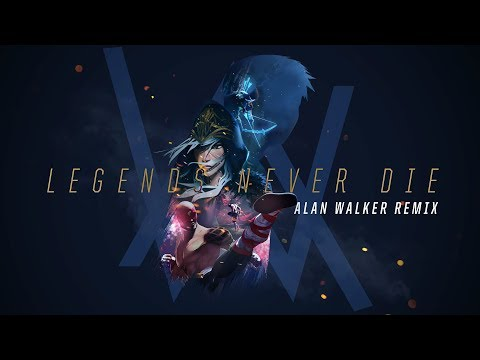 Legends Never Die [Alan Walker Remix] | Worlds 2017 - League of Legends