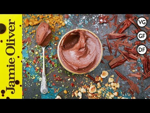 Vegan Chocolate Pots | Jamie Oliver