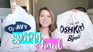 HUGE KIDS CLOTHING HAUL! | SPRING CLOTHES