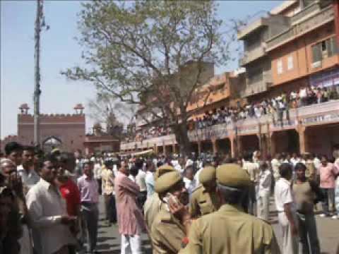 Girdhari Lal Bhargava Funeral Procession