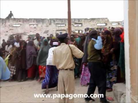 Humanitarian Assistance Somalia - Refugees Rioted At Mogadishu