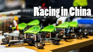 Drone Racing on the Other Side of the World