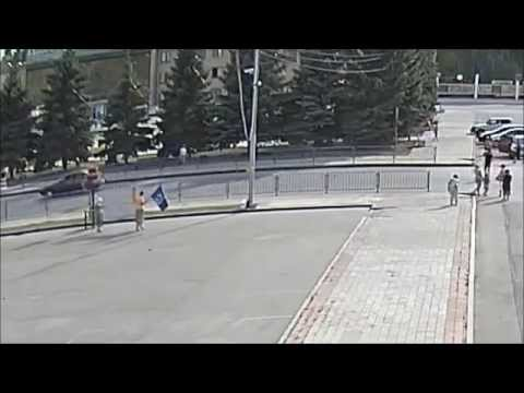 Пеунова, партия воля и отрадненские помидоры  г  Отрадный Самарской области 18 08 2014 г