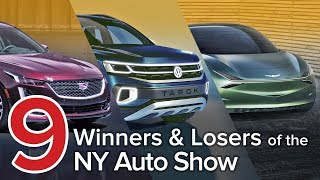 9 Winners & Losers of the 2019 New York Auto Show: The Short List