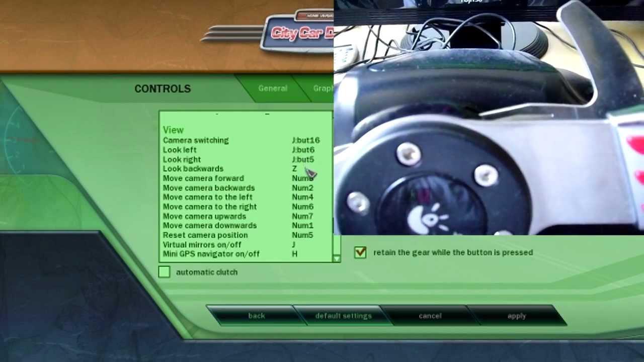 City Car Driving Keyboard Controls