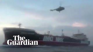 UK-Iran radio exchange over seized tanker released