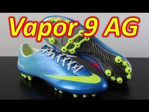 Nike Mercurial Vapor 9 IX AG Neptune Blue - Unboxing + On Feet