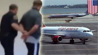 Avión debe aterrizar de emergencia cuando pasajero agitado intenta abrir una puerta en pleno vuelo