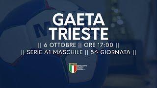 Serie A1M [5^ giornata]: Gaeta - Trieste 23-29