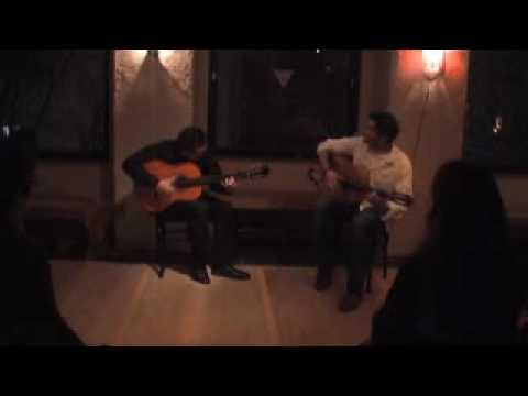Kaya flamenco guitar - Buleria Guitar Duo.wmv - de Lucia, Paco Pena, del Gastor, Cepero