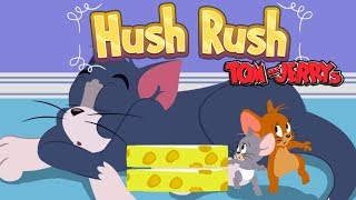 Tom And Jerry - RUSH HUSH. Fun Tom and Jerry 2018 Games. Baby Games #LITTLEKIDS