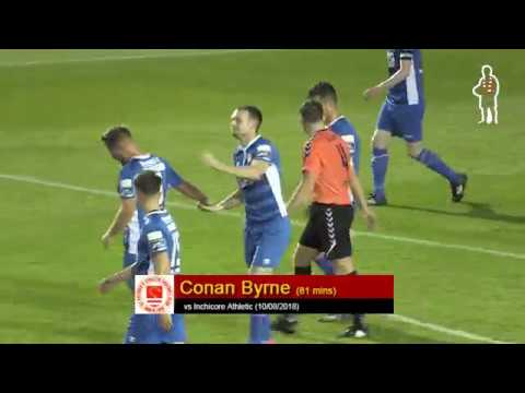Goal: Conan Byrne (vs Inchicore Athletic 10/08/2018)