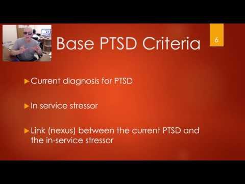 PTSD Claims for VA Compensation