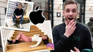 INSTAGRAM PHOTOSHOOT CHALLENGE IN DE APPLE STORE!