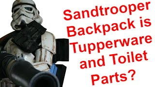 501st Legion Sandtrooper Armor - Backpack