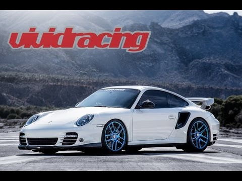 Full Throttle Porsche 997 Turbo S Desert Highway Driving