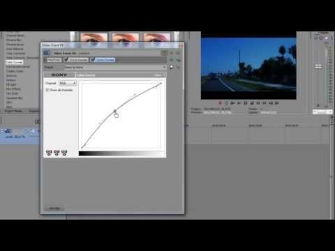 """Урок Сони Вегас 1( Создание эффекта """"ночь"""" на видео) - Видео Онлайн / VIDEOTOP.INFO"""