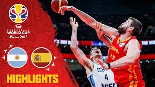 Argentina v Spain - Full Game Final Highlights - FIBA Basketball World Cup 2019