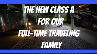 We Upgraded from an Airstream to our new 2017 Class A - RV tour (S2E43)