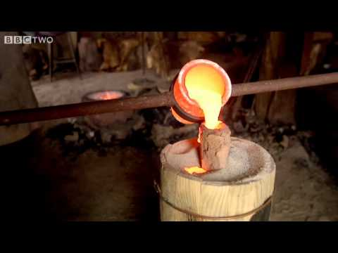 """Liquid Fire"" to Metal Sword in minutes! - A History of Ancient Britain - Ep4 - Preview - BBC Two"